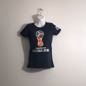 FIFA World Cup Russia 2018 Graphic Tee Small